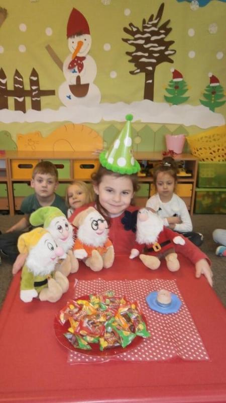 Galeria urodzinowa - semestr II Krasnoludki